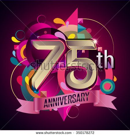 75Th anniversary wreath ribbon logo, geometric background - stock vector  #100 #100th #abstract #ad #advertisement #age #anniversary #background #badge #banner #birthday #business #card #celebrating #celebration #ceremony #certificate #collection #colorful #congratulation #corporate #design #element #event #flat #geometric #happy #icon #illustration #invitation #jubilee #label #marriage #modern #number #party #pattern #ribbon #sign #success #symbol #template #vector #vintage #wheat #wreath…