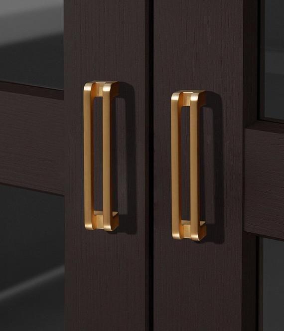 3 75 5 6 3 Bright Gold Cabinet Door Etsy Cupboard Handles