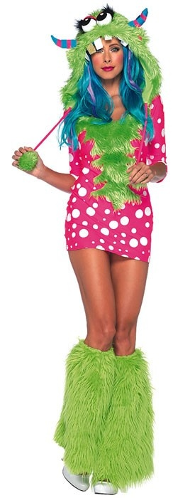 Melody Monster Sexy Women's Halloween Costume $96.95