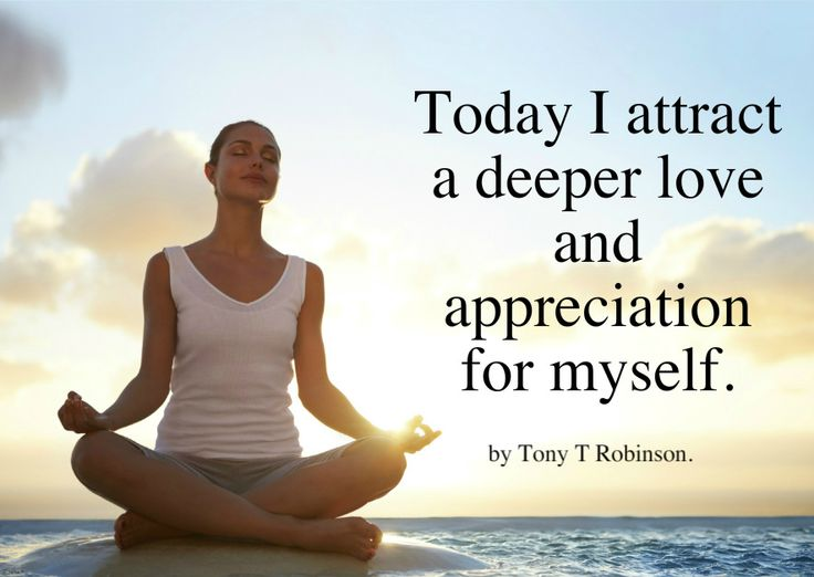 Today I attract a deeper love and appreciation for myself. http://www.loaspower.com/start-with-law-of-attraction/