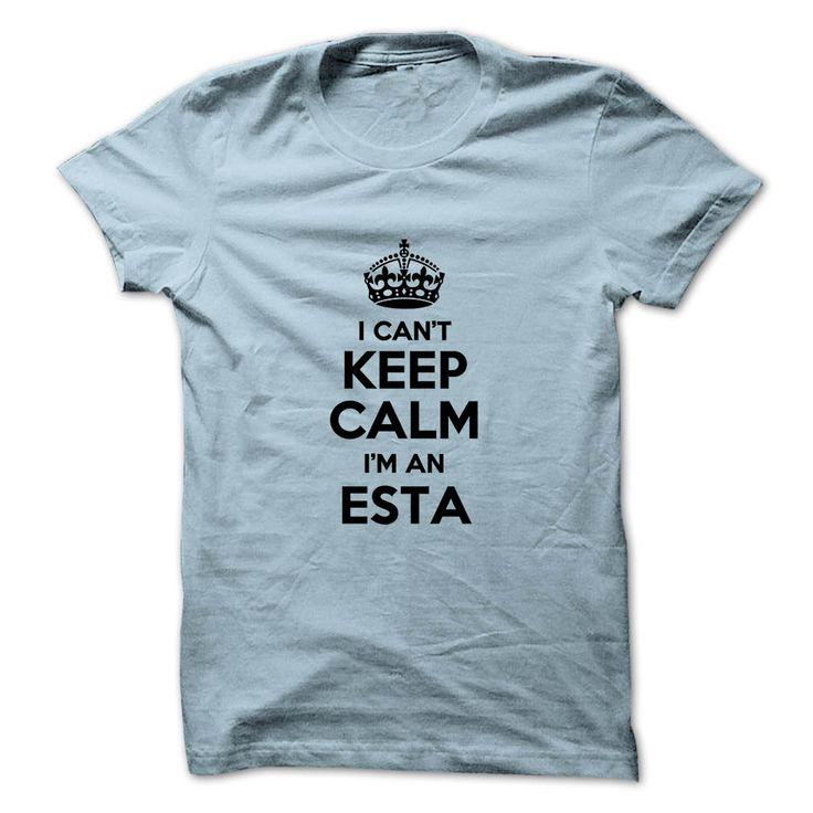 (Greatest Worth) I cant keep calm Im an ESTA - Buy Now...