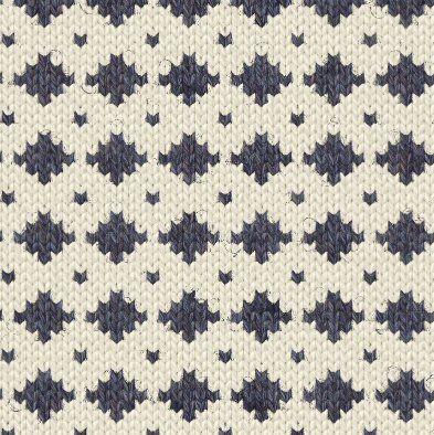 ニットパターン集 PATTERN STOCK 幾何学模様1