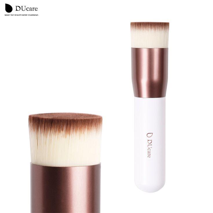 DUcare   DUcare Kabuki Brush Flat Foundation Makeup brushes professional high quality Liquid foundation brushes free shipping