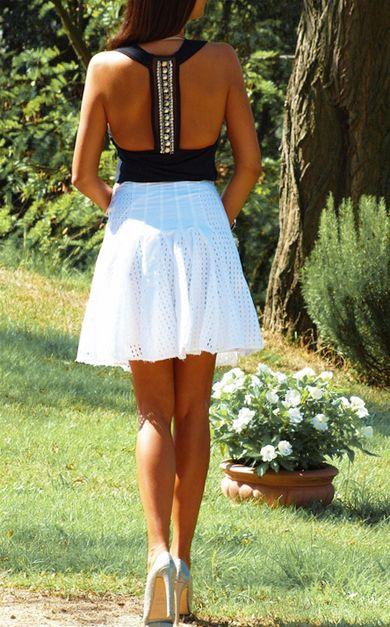 Pretty T-back summer dress