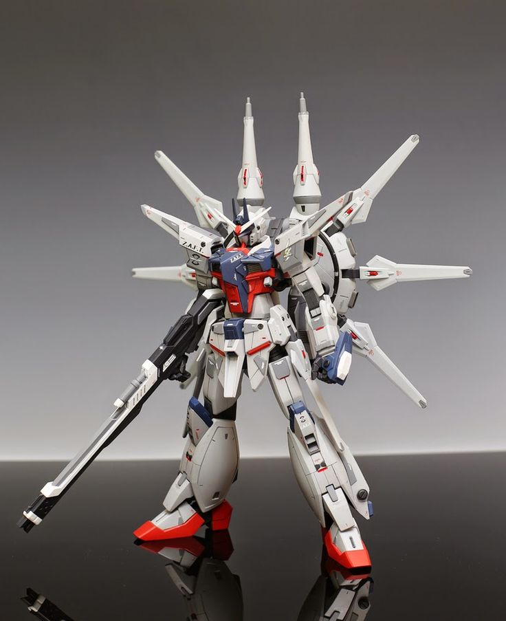 GUNDAM GUY: 1/100 Legend Gundam - Customized Build
