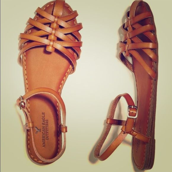 American eagle sandals Worn a few times. Still in good condition. American Eagle Outfitters Shoes Sandals