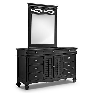 Plantation Cove Black Kids Furniture Dresser