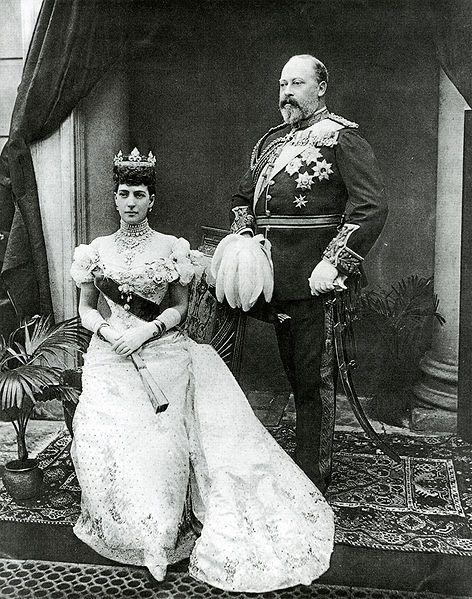 Muerte de Victoria. le sucedió su hijo, el rey Eduardo VII . En la imagen con su…