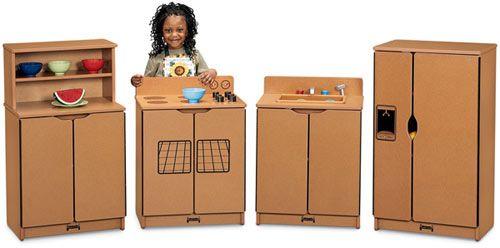 Jonti-Craft Sproutz Kitchen Set   Jonti-Craft Sproutz Preschool Furniture   Eco-Friendly Furniture