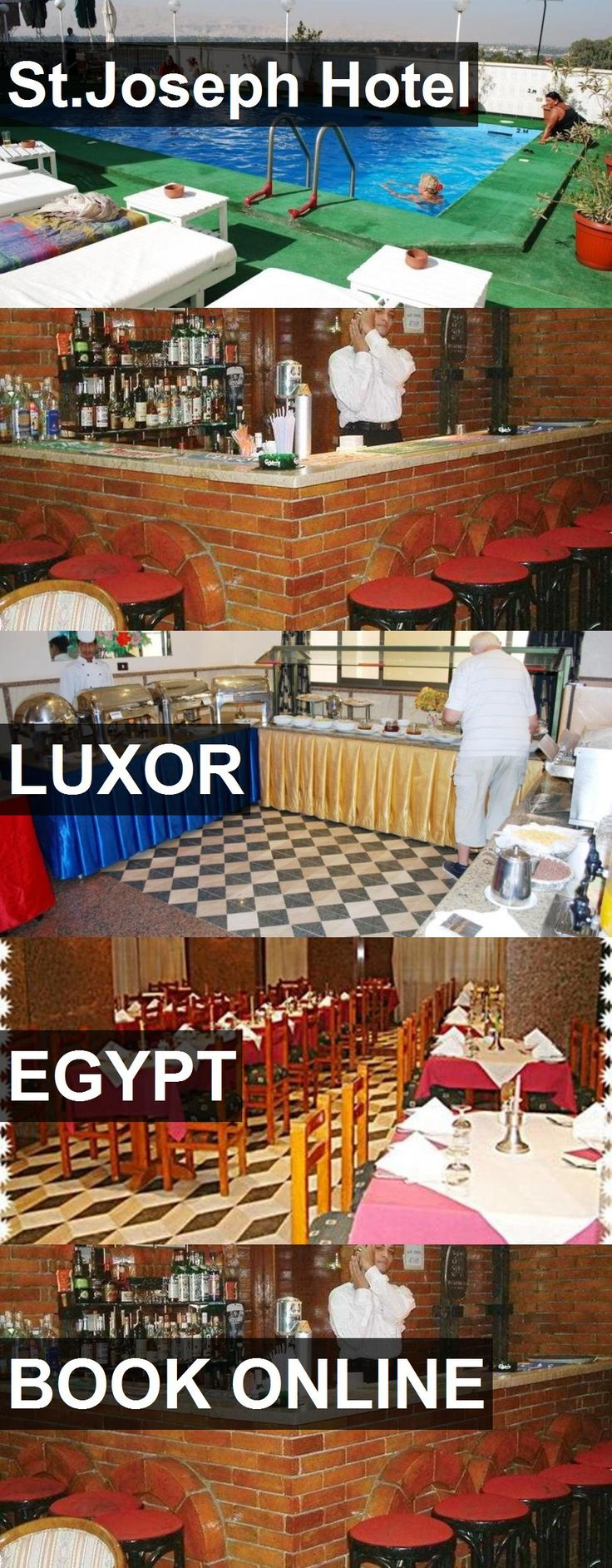 St.Joseph Hotel in Luxor, Egypt. For more information, photos, reviews and best prices please follow the link. #Egypt #Luxor #travel #vacation #hotel