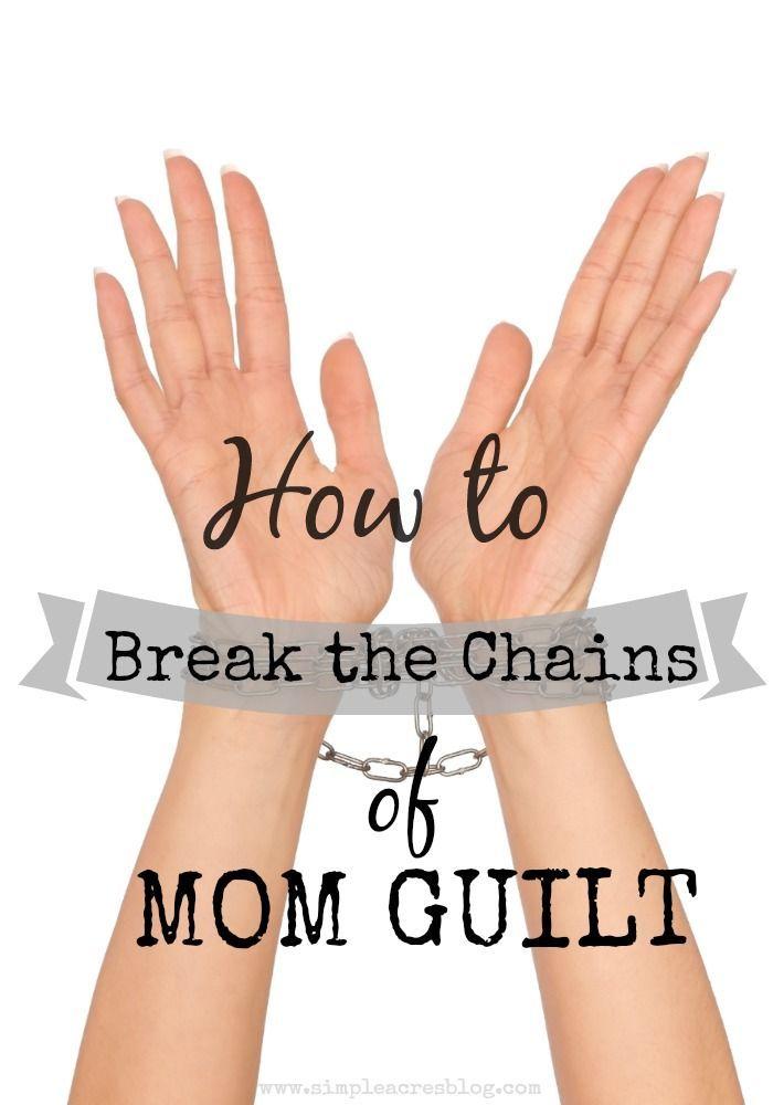Mom Guilt, No More