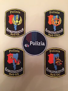 Set: 5 Patches Ticino Polizia Cantonale Swiss Police Polizei New Original Rarity  | eBay