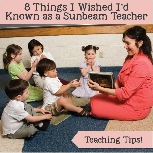 8 Things I Wished I'd Known as a Sunbeam Teacher! Helpful teaching tips and resources for LDS teachers! www.LovePrayTeach.com
