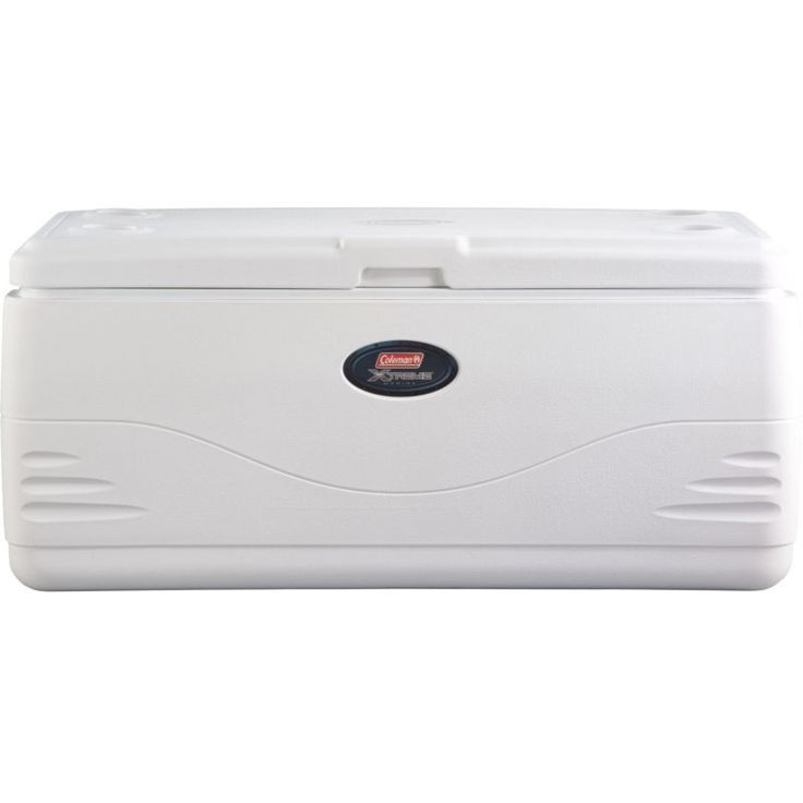 Coleman 150 Quart Marine Cooler, White