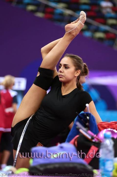 Margarita MAMUN (RUS) Hoop Training