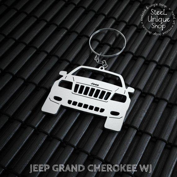 Jeep Grand Cherokee Wj Keychain Jeep Cherokee Trailhawk Jeep