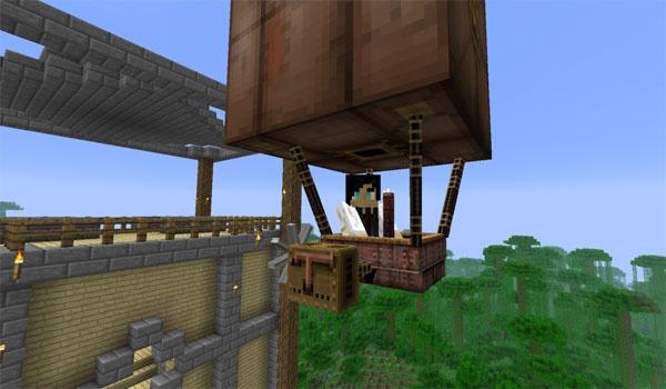 Steampunk Airships Mod para Minecraft 1.4.6 y 1.4.7