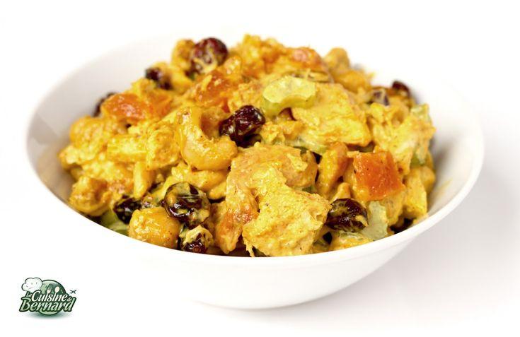 La Cuisine de Bernard : Salade de Poulet au Curry et Noix de Cajou