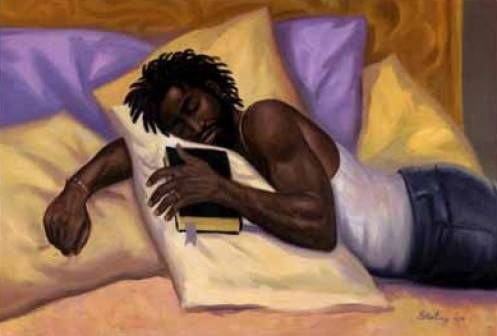 This is a beautiful thing GOD loving Man getting his daily bread