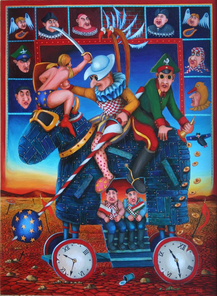 "Jacek Lipowczan ""Landscape after the Battle...."" - 2016"