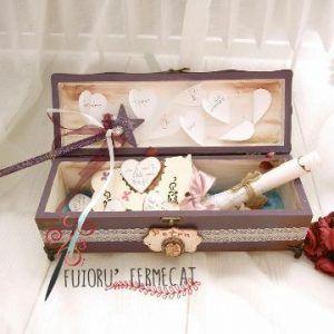 Cutia cu amintiri handmade with love by Fuioru Fermecat