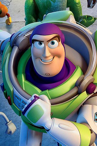 Buzz Lightyear, to infini....ah....you know.