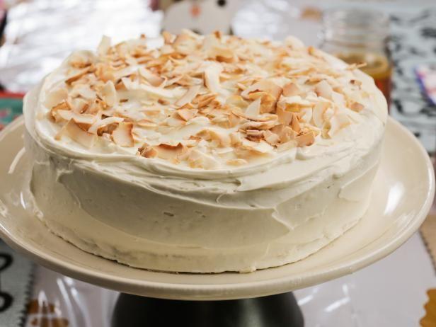 Enjoyable Carrot Coconut Birthday Cake Recipe With Images Savoury Cake Birthday Cards Printable Trancafe Filternl