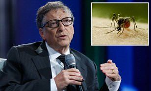 EXCLUSIVE: Footage seen by MailOnline, set to be aired on the Discovery Channel, shows the philanthropist's worries towards an outbreak of a deadly virus that could spread across the world.