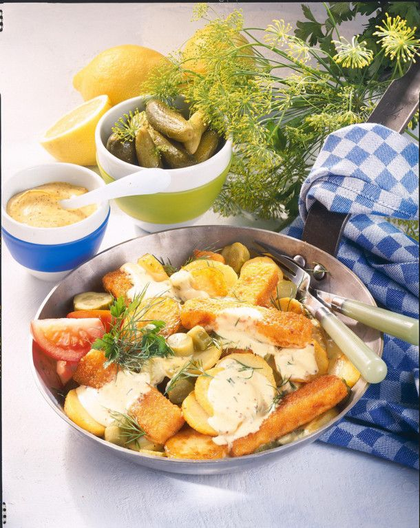 Unser beliebtes Rezept für Fischstäbchen à la Pannfisch und mehr als 55.000 weitere kostenlose Rezepte auf LECKER.de.