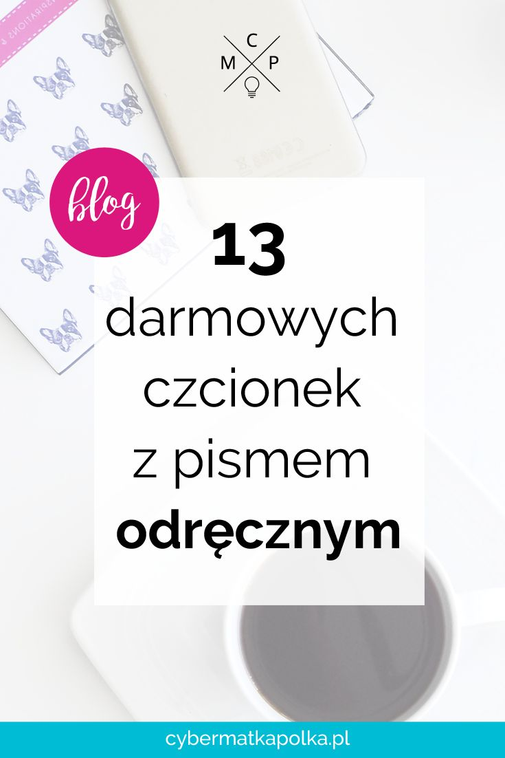 13 free script fonts   13 darmowych czcionek z pismem odręcznym