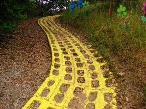 On the Yellow Brick Jogging Path - Sul percorso jogging di mattoni gialli