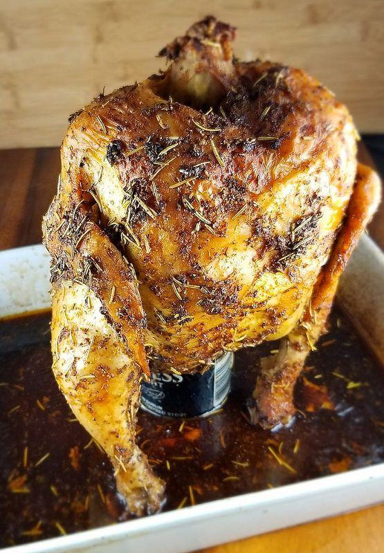 Beer Can Chicken Recipe | BlogChef.net
