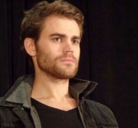 Paul Wesley - hot with a beard too!!  Just need to put him in some kind of historical costume now! Roman? Tudor? .....