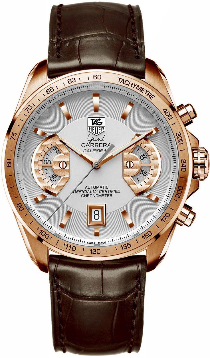 Tag Heuer Grand Carrera Chronograph Calibre 17 RS Men's Watch Model: CAV514B.FC6171