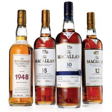 The Macallan Scotches of Scotland