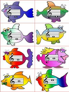 Fish Flash Cards These are the cards that go to a flash card fishing game my students like to play. As you can tell, I drew these fish myself on the computer, but I had a lot of fun drawing them. …