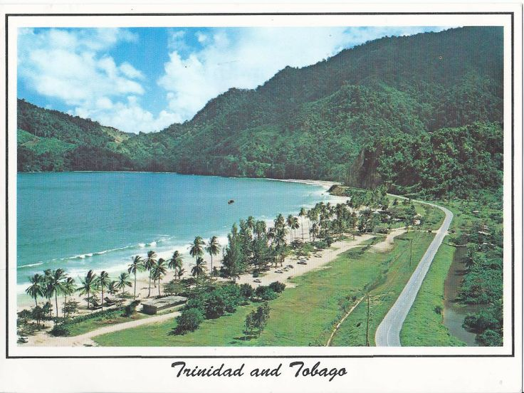 Trinidad and Tobago. Trinidad is the larger and more populous of the main islands. The capital city is Port of Spain.    The north coast of Trinidad is home to Maracas Bay, one of the more popular beaches on the island because of its rolling waves and shaded white sands.