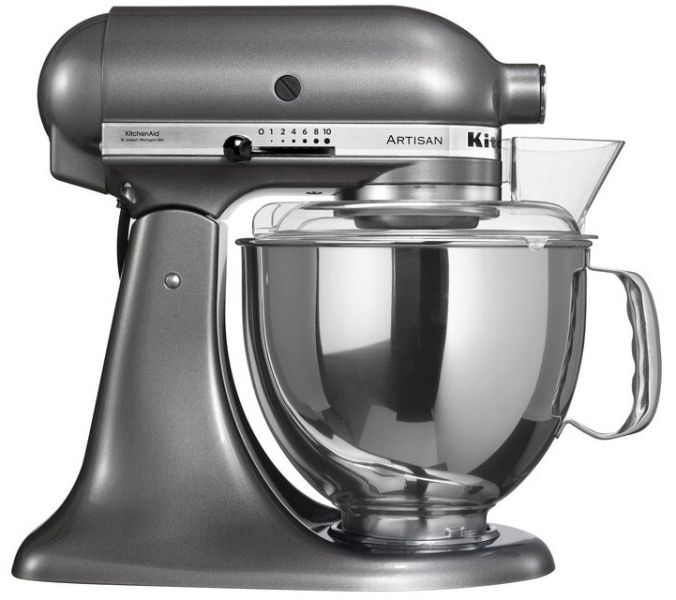 pro küchenmaschine artisan metallic kitchenaid