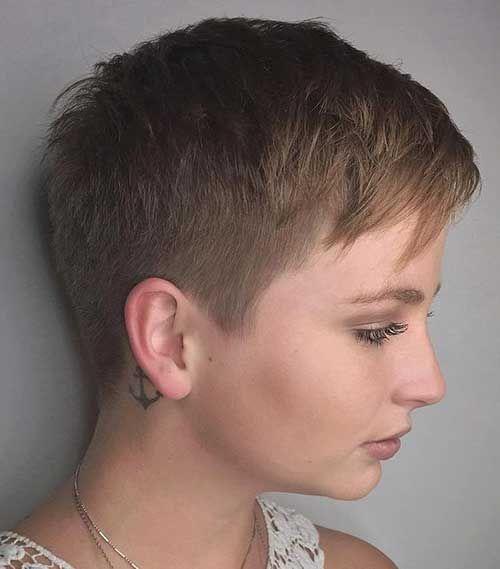 Trendy Haircuts Super Short Haircut
