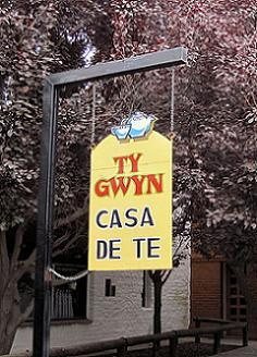 The southernmost region of Argentina, Patagonia, and the town of Gaiman in particular, are known for several traditional Welsh tea houses popular with tourists. The tea houses were established by Welsh people who emigrated to Argentina seeking cultural freedom during a time in the 19th century when the Welsh language was suppressed in Great Britain