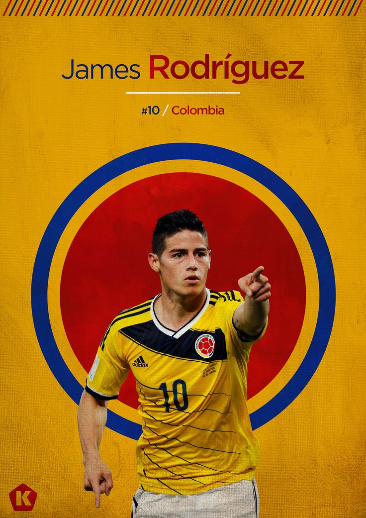 James Rodriguez - Colombia.