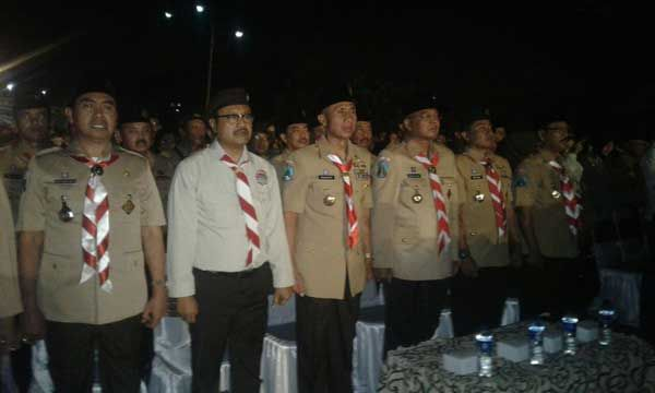 Pangdam V/Brawijaya Nyalakan Obor Indonesia Scouts Challenge