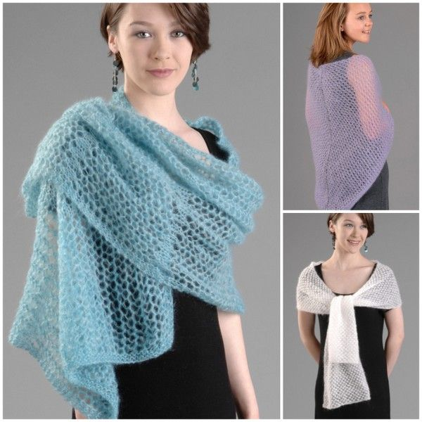 Wendy Knitting Patterns Free : Wendy Air Wrap/Stole/Shawl Knitting Pattern PDF 5802 Shawl, Knitting patter...