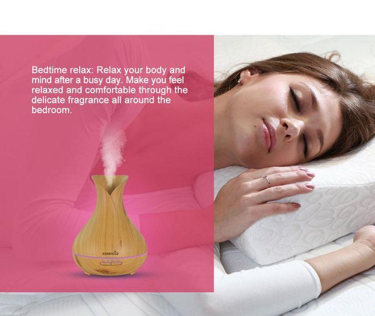 Aroma Essential Oil Diffuser Ultrasonic Air Humidifier – myshoponline.com