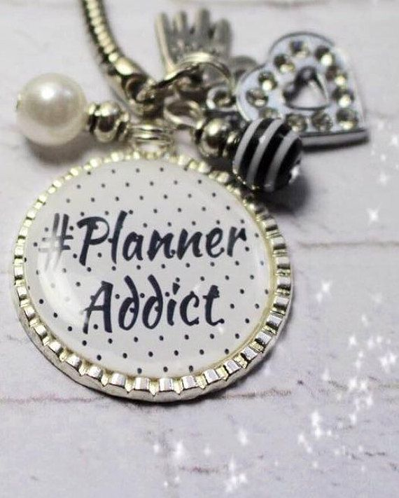 Planner Addict charm planner charm color crush by DottyMooShop