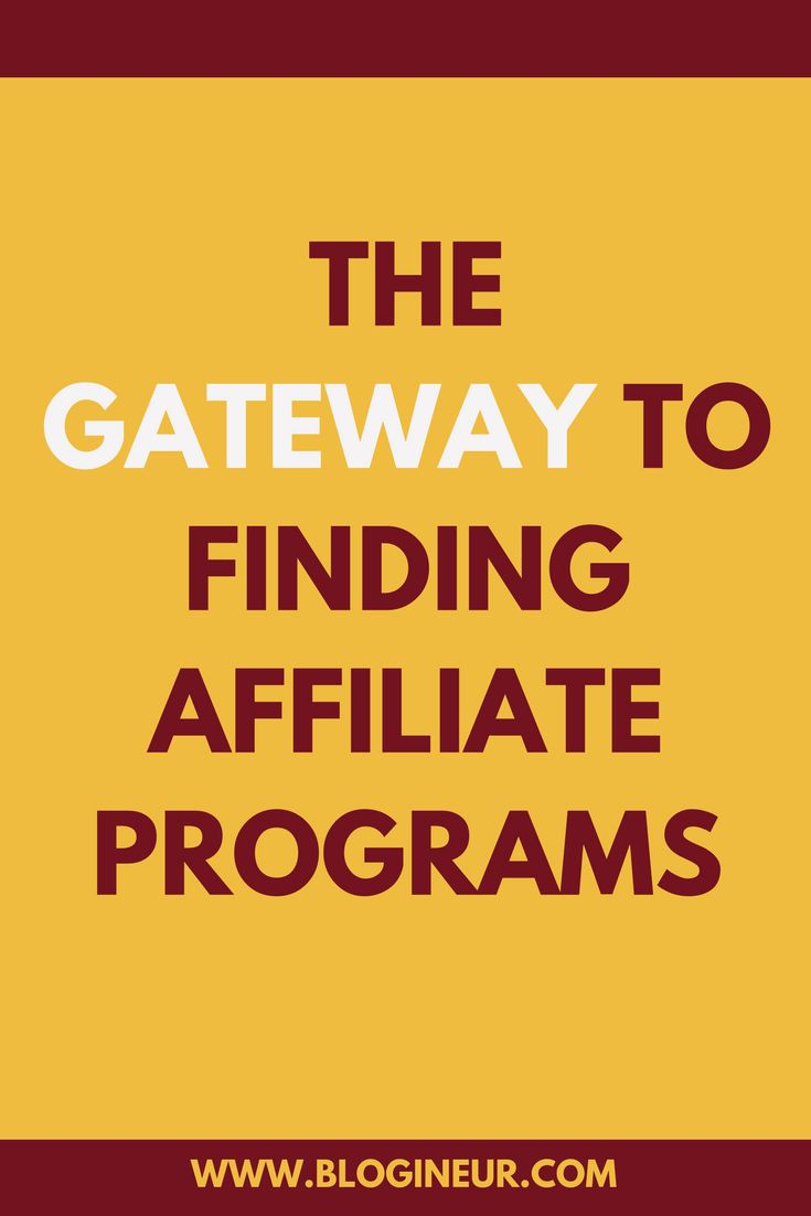 Where and how do you find affiliate programs? Check out this in-depth post on where and how you can find affiliate programs. #affiliatemarketing #blogging #bloggers #affiliate