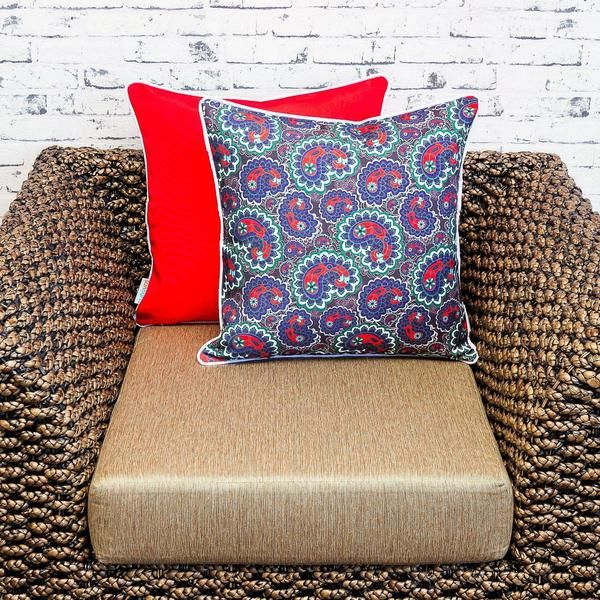 This Sacred Cushion Covers is suitable for indoor and outdoor use.