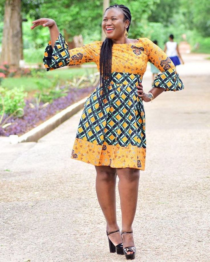 349 best Simple African clothes images on Pinterest | African dress ...
