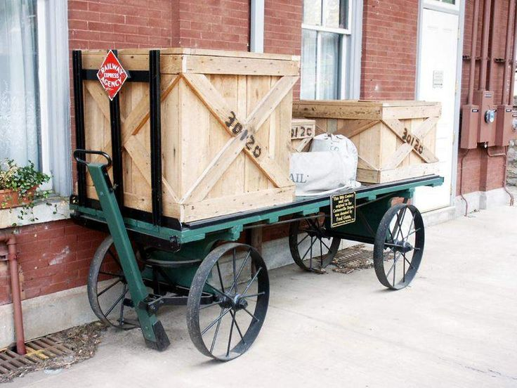 30 best Railroad Baggage and Freight Carts images on Pinterest ...