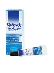 REFRESH® LACRI-LUBE® Lubricant Eye Ointment provides strong, soothing nighttime relief for more intense dry, irritated eyes and is ideal for use at bedtime.